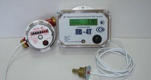 счетчик горячей воды с термодатчиком