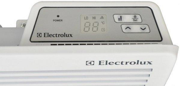 отопительный конвектор с электронным термостатом