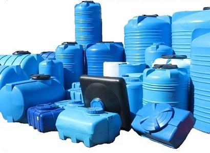 накопительные пластиковые баки для воды