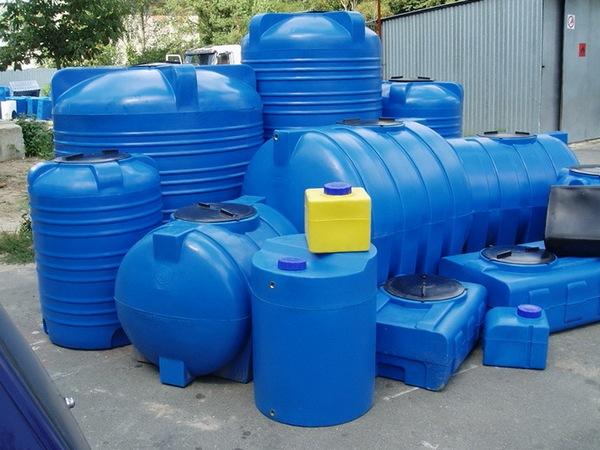 емкости из пластика под воду