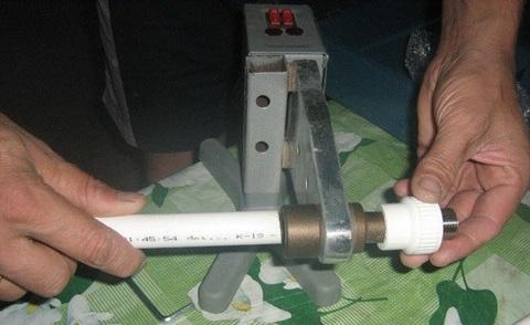 пайка полипропиленовых труб