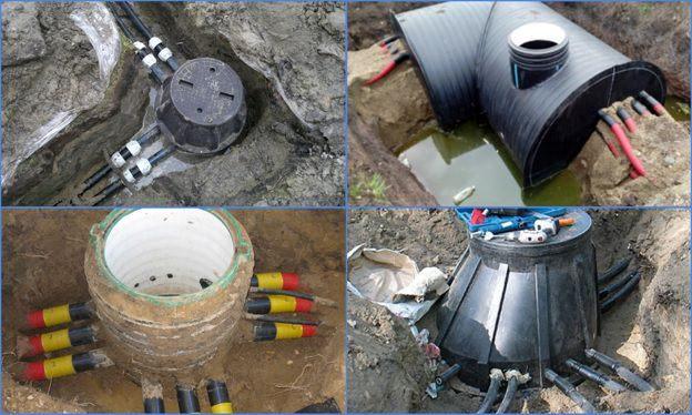 пластиковые колодцы для кабельной канализации