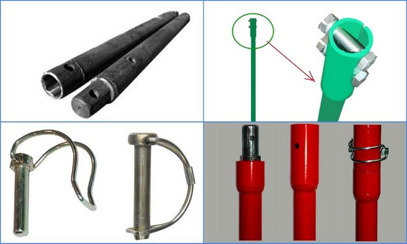штифтовые соединения труб