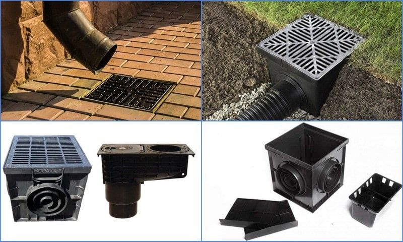элементы ливневой канализации