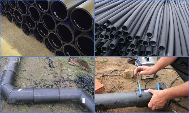 трубы для дренажа и ливневой канализации
