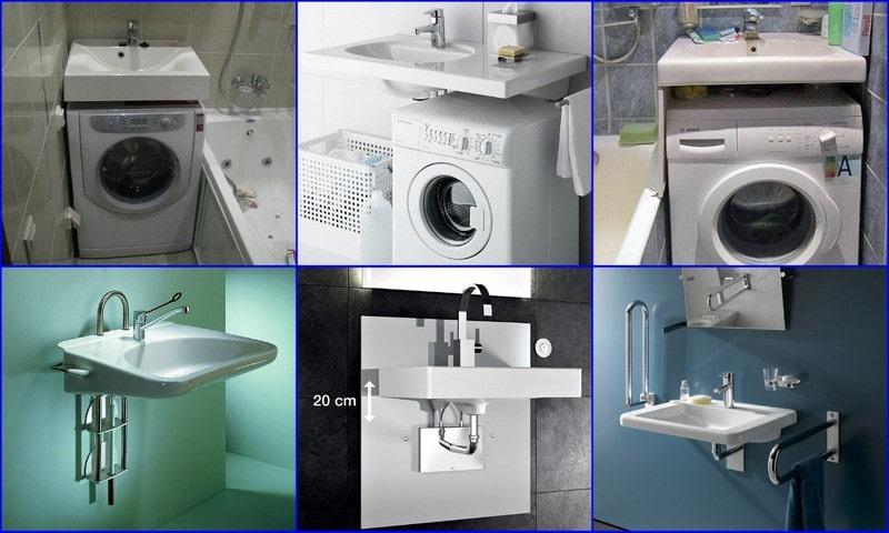 современные типы раковин в ванной