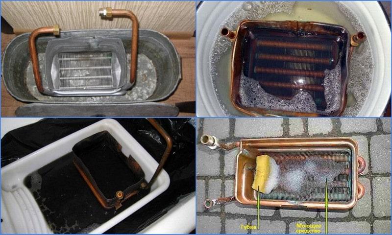 Чистка газовой колонки в домашних условиях