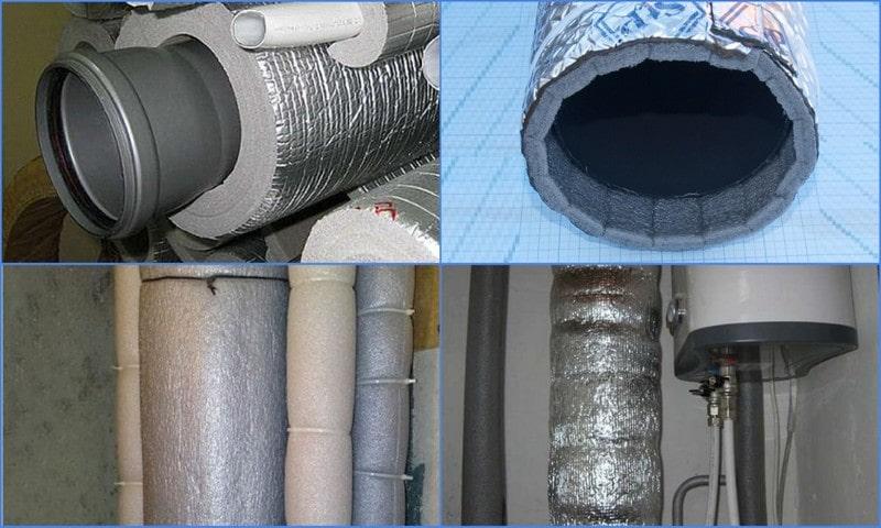 шумоизоляция канализационной трубы