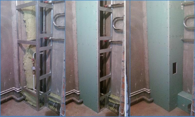 как уменьшить шум канализационных труб